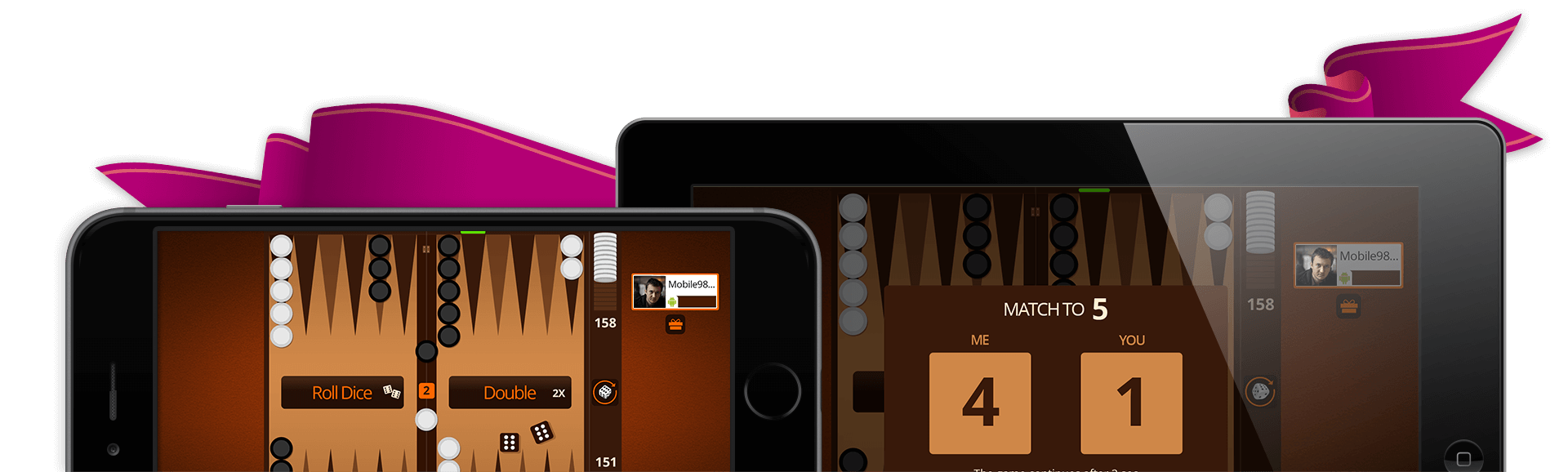 VIP Backgammon is available on all devices!