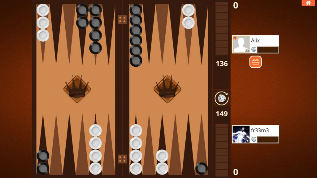 Play Backgammon Online Against Friends